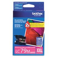 Brother LC79M Magenta Ink Cartridge Original Genuine OEM