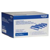 Brother DR-210CL Drum Kit 15,000 Page Yield Original Genuine OEM
