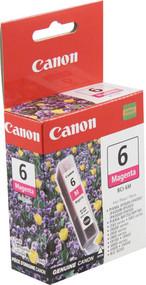 Canon 4707A003 (BCI-6M) Magenta Ink Cartridge Original Genuine OEM