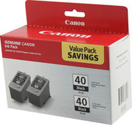 Canon 0615B013 2-Pack Pigment Black Ink Cartridge Original Genuine OEM