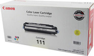 Canon 1657B001AA (CRG-111) Yellow Toner Cartridge Original Genuine OEM