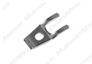 1969-1973 Ford Mustang speedometer cable clamp at the transmission.