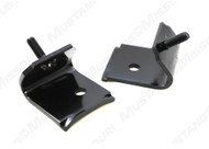 """1964-1965 Ford Mustang engine support brackets. Referred to as """"C"""" or """"L"""" bracket.  Intermediate bracket between the body stand and the motor mount."""