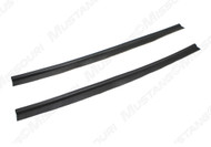 1971-1973 Ford Mustang quarter trim windlace, pair.