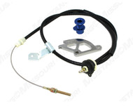 1996-04 Adjustable Clutch Cable Kit BBK