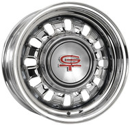 Shown with GT center hubcap sold separately.