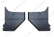1964-1966 Ford Mustang kick panels for coupe or fastback.  Made by Scott Drake Mustang.