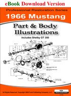 1966 Mustang Part & Body Illustrations