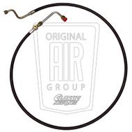 1967-1968 Sight glass hose and 90 degree fitting for 390 and 428.