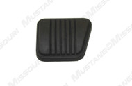 1974-1978 Ford Mustang brake or clutch pedal pad.