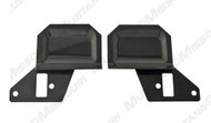 1969-1970 Ford Mustang deluxe door panel trim plates.