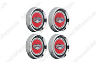 Legendary Center Cap Set, Ford Logo