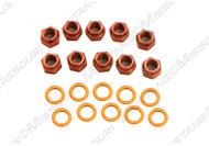 1969-1973 Ford Mustang Differential Carrier Housing Nuts & Washers