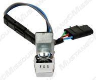 1965 Ford Mustang fog lamp switch for the factory GT harness