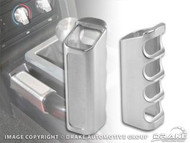 2005-2009 Ford Mustang emergency brake handle cover, billet