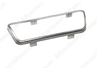 1968-1973 Ford Mustang brake pedal pad trim, for models with automatic transmission.