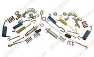 1965-1969 Ford Mustang rear brake hardware kit, 8 cylinder, all models.