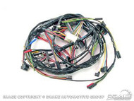 1968 Underdash Wiring Harness w/ Fog Lamp Only