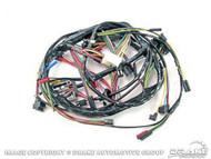 1968 Underdash Wiring Harness w/ Tach, GT, Fog