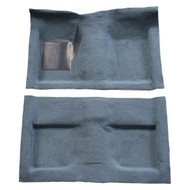 1965-1968 Ford Mustang convertible molded carpet kit from Auto Custom Carpets.