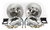 1964-1969 Ford Mustang front disc brake conversion kit, V-8 without master cylinder.
