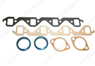 1964-73 Exhaust Manifold Gaskets SB V8.  Both sides shown.