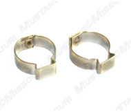 1967-1968 Fuel Line Hose Clamps 3/8 in