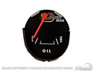 1965-66 Oil Pressure Gauge