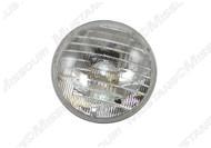 1969 Headlight Bulb High Beam Plain