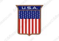1972 U.S.A. Body Shield Decal