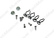 1964-1965 Ford Mustang dash pad mounting kit, 12 piece kit.