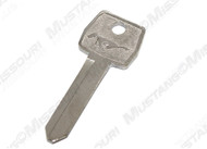 1967-93 Pony Key Blank Ignition Door