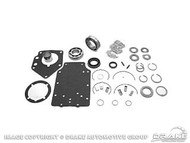 1964-1973 Ford Mustang manual transmission overhaul kit, 8 cylinder, 4 speed toploader (except 427, 428 and 429 c.i.).