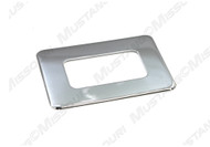 1969-1970 Ford Mustang shift boot retainer bezel.