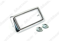 1969 Ford Mustang marker light bezel, chrome.