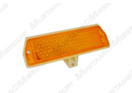 1971-1973 Ford Mustang front side marker lamp lens.
