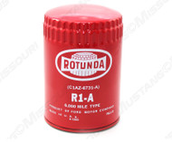 1964-66 Concours Oil Filter Red Rotunda