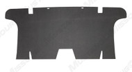 1964-66 Rear Seat Divider Black Chipboard