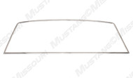 1964-1966 Ford Mustang coupe rear window molding set.