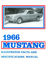 1964-73 Mustang Facts Book