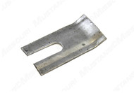 1964-1967 Ford Mustang front seat track shim plate, each.  Fits between seat track and carpet.  Will also work on 1968-1970.