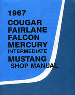 1967 Ford Mustang Shop Manual