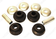 1967-1973 Ford Mustang strut rod bushing kit, heavy duty rubber, kit.  This kit will mount both strut rods.
