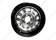 1968-69 Styled Steel Wheel Black/Chrome 14 x 6