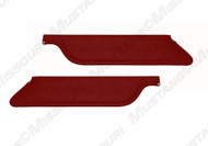 1964-1966 Ford Mustang Sunvisors Coupe & Fastback