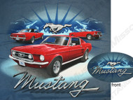 1967-1968 Ford Mustang t-shirt.