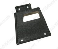 1967-68 Fastback Seat Latch Cover with Folddown