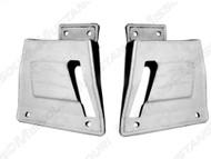 1967-68 Fastback Seat Latch Covers w/o folddown