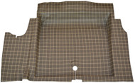 1967 Trunk Mat Burtex Plaid