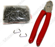 Upholstery Installation Kit with Hog Rings